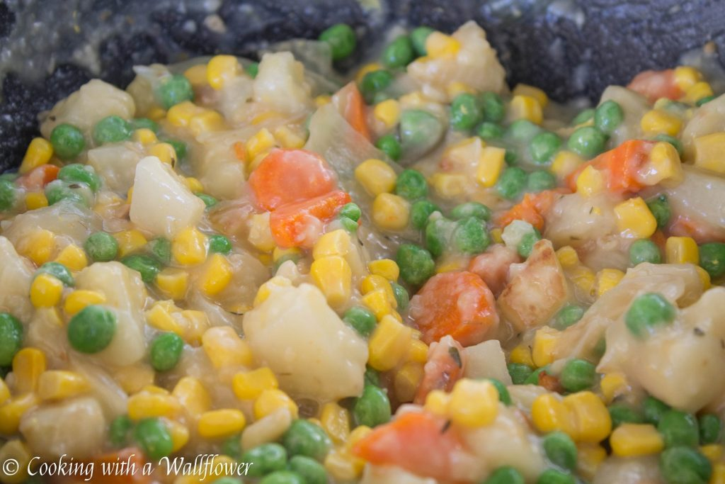 Leftover Turkey Pot Pie | Cooking with a Wallflower