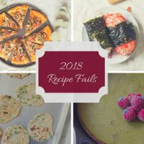 2018 Recipe Fails | Cooking with a Wallflower