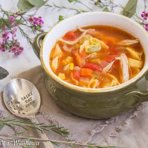 Chicken Tortellini Soup | Cooking with a Wallflower
