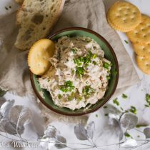 French Onion Dip | Cooking with a Wallflower