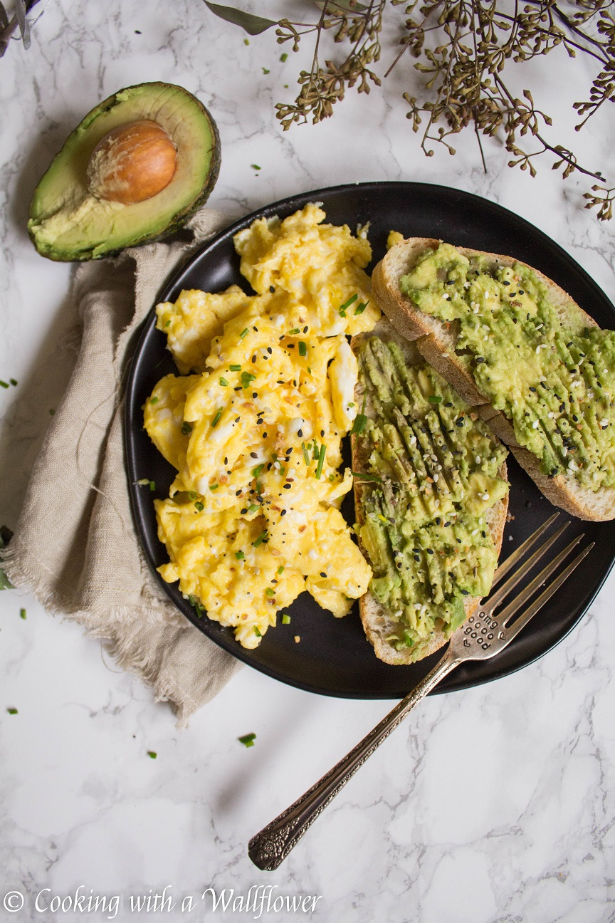 Slow Scrambled Eggs with Everything Spice - Cooking with a Wallflower