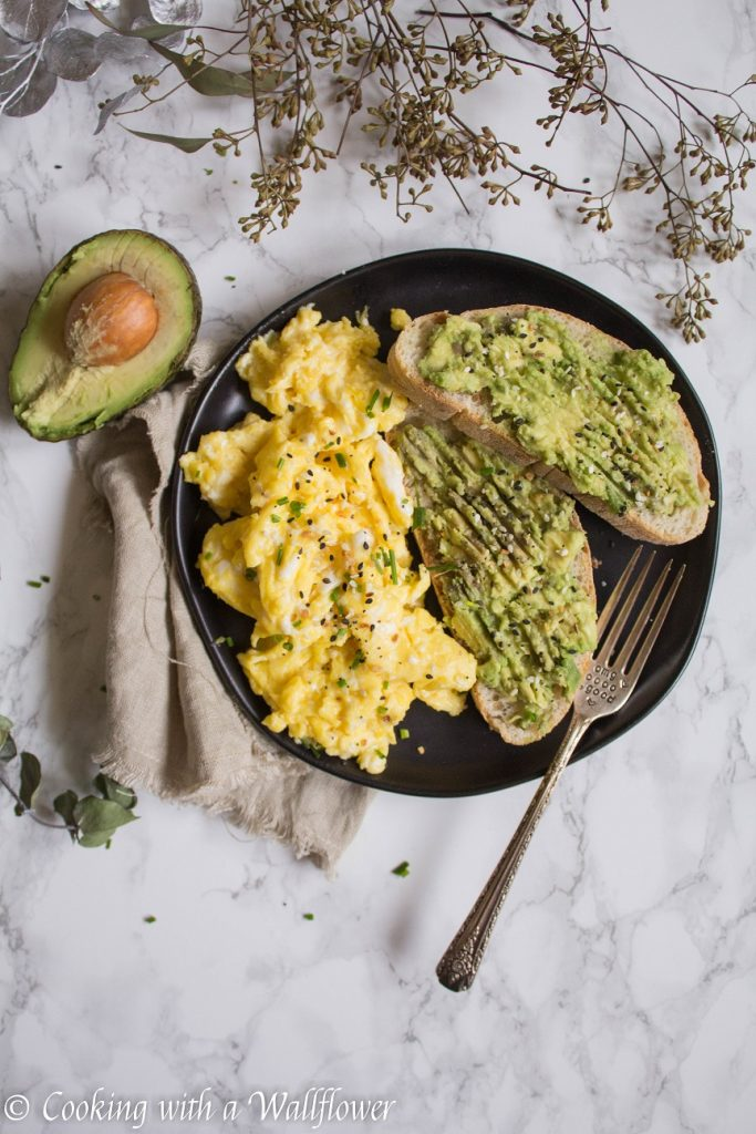Slow Scrambled Eggs with Everything Spice | Cooking with a Wallflower