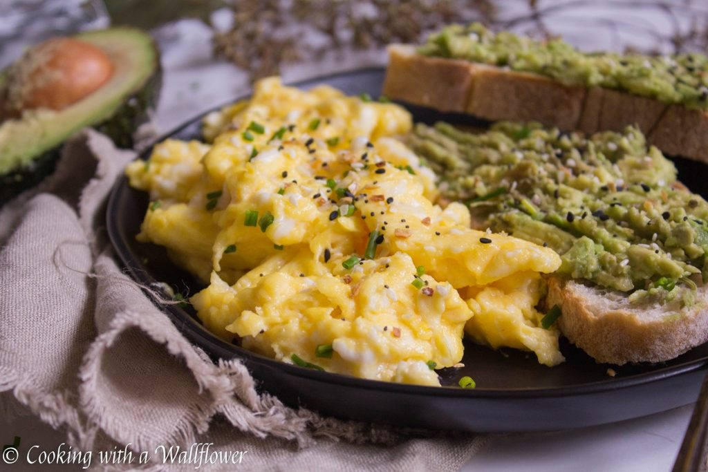 Slow Scrambled Eggs with Everything Spice   Cooking with a Wallflower