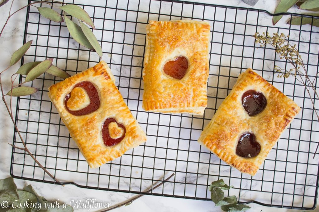 Strawberry Jam Pop Tarts | Cooking with a Wallflower
