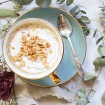 Chai Oatmeal Latte | Cooking with a Wallflower