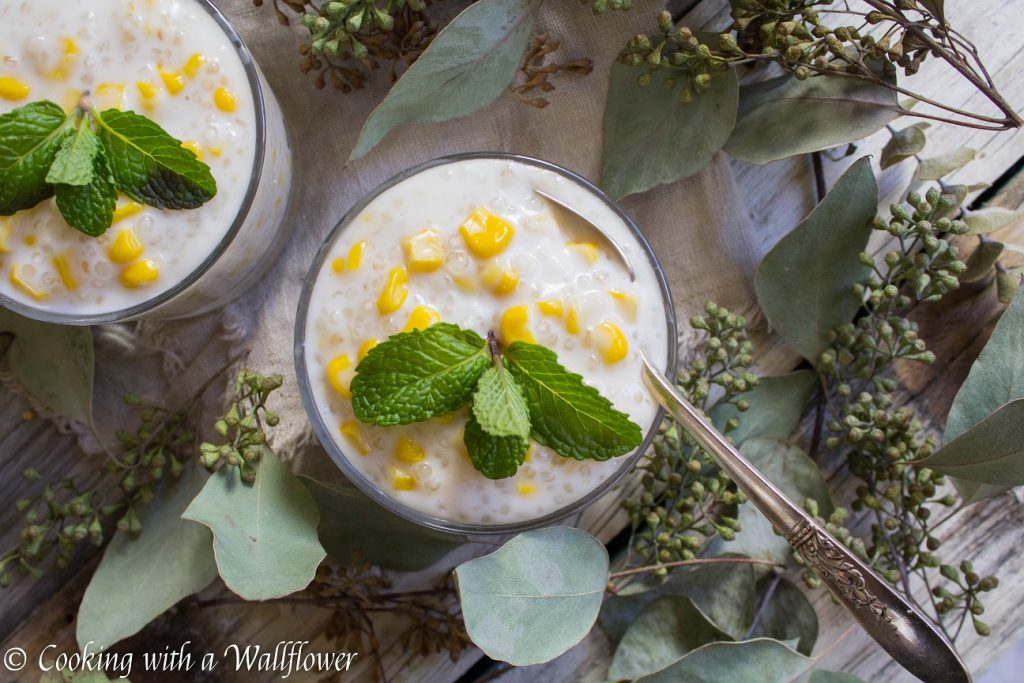 Coconut Corn Tapioca Pudding | Cooking with a Wallflower