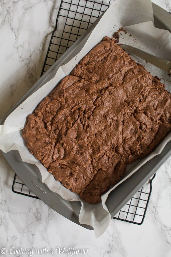 Salted Caramel Brownies   Cooking with a Wallflower