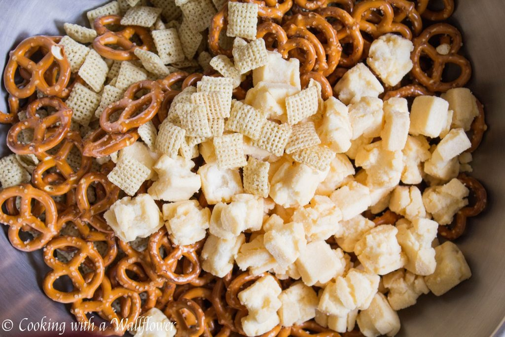 Spicy Furikake Chex Mix | Cooking with a Wallflower