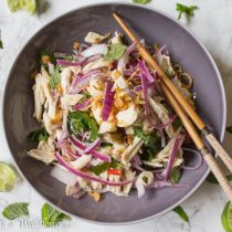 Vietnamese Shredded Chicken Salad | Cooking with a Wallflower
