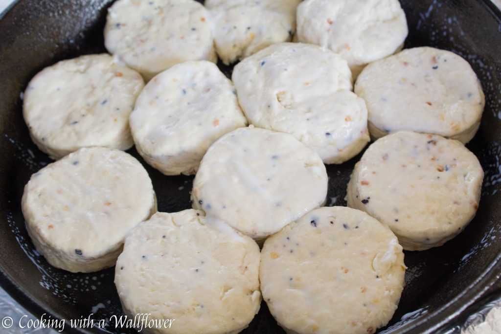 Everything Spice Buttermilk Biscuits  | Cooking with a Wallflower