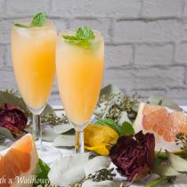Grapefruit Mimosas | Cooking with a Wallflower
