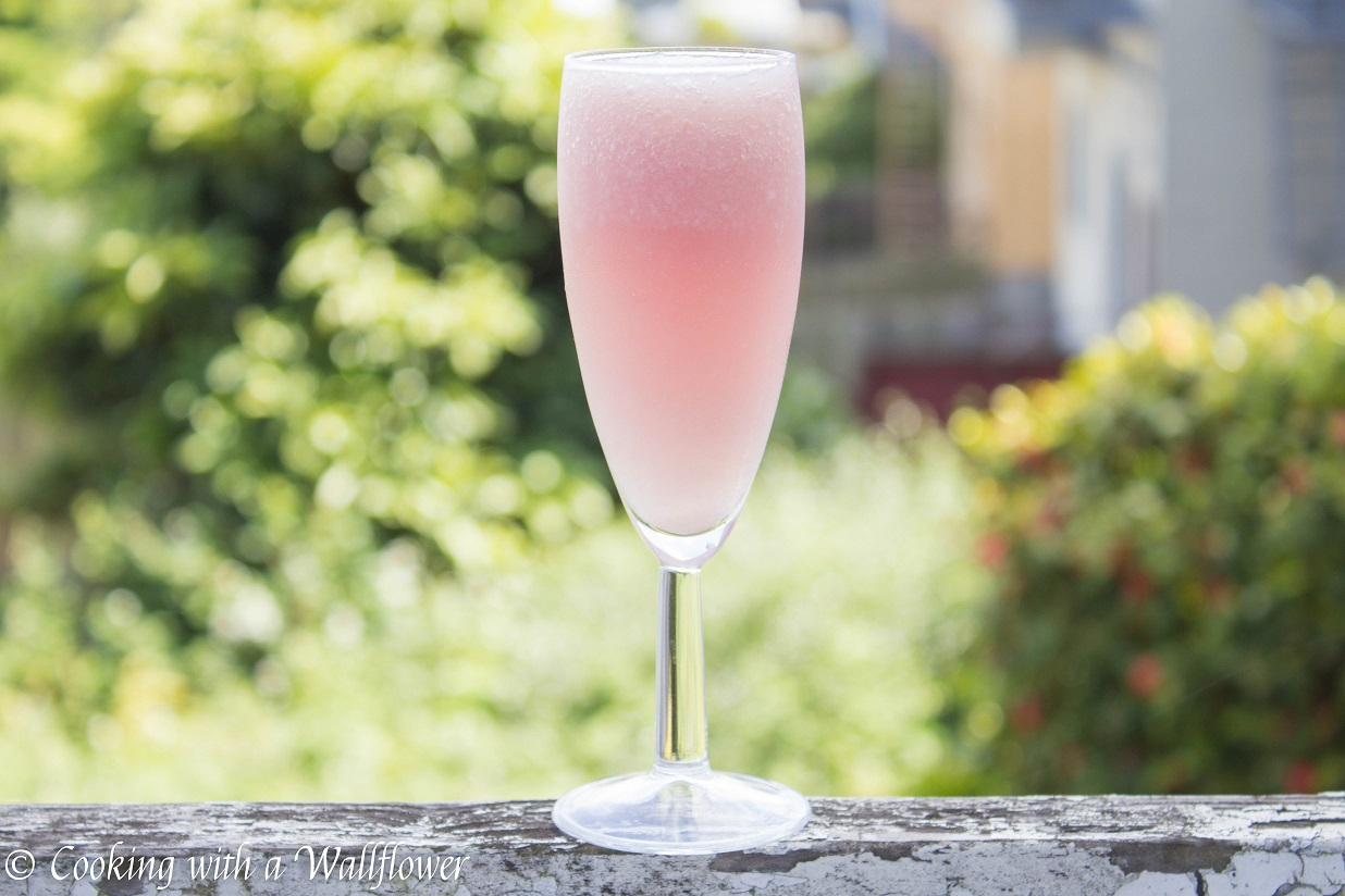 Lychee Rosé Wine Slushie