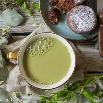 Jasmine Matcha Latte | Cooking with a Wallflower