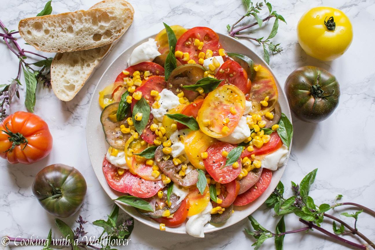Heirloom Tomato Burrata Salad
