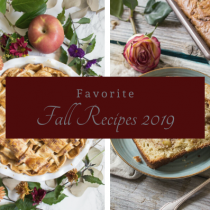 Favorite Fall Recipes 2019