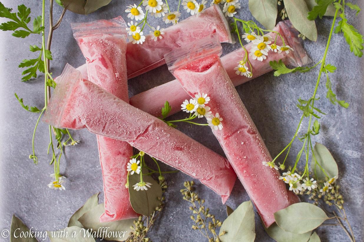 Strawberry Rosé Freezer Pops