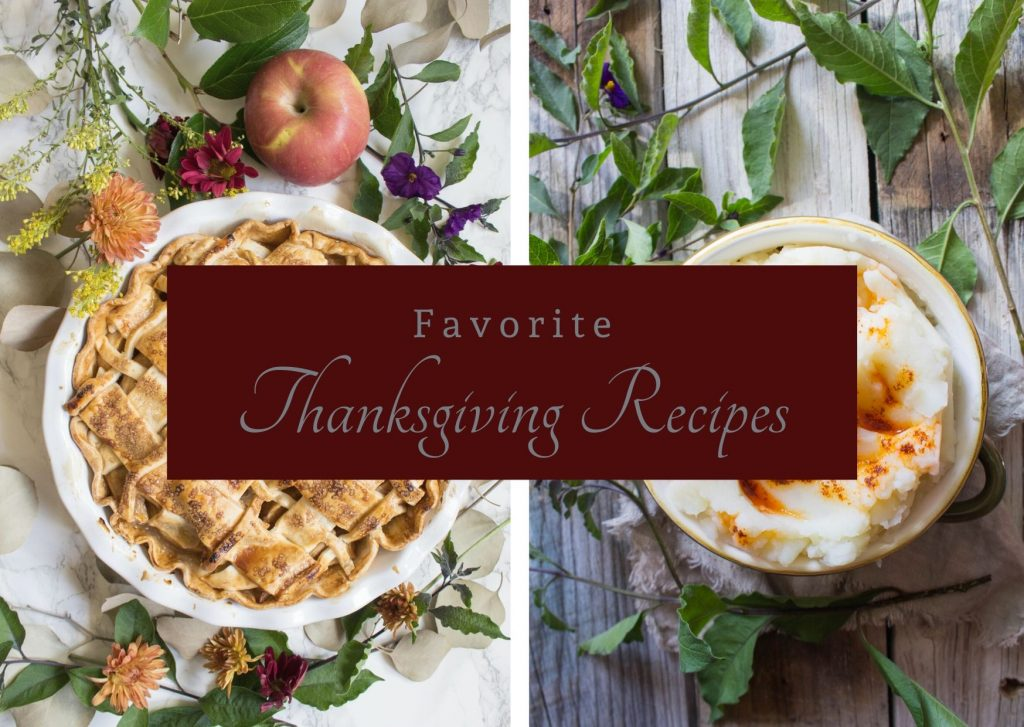 Favorite Thanksgiving Recipes 2019