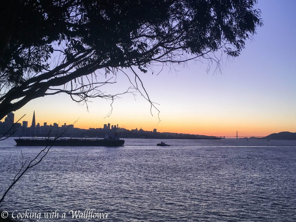 Sunset in Treasure Island