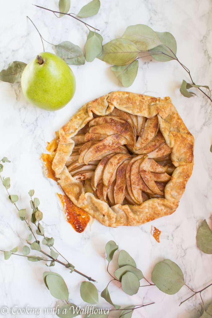Honey Pear Galette | Cooking with a Wallflower