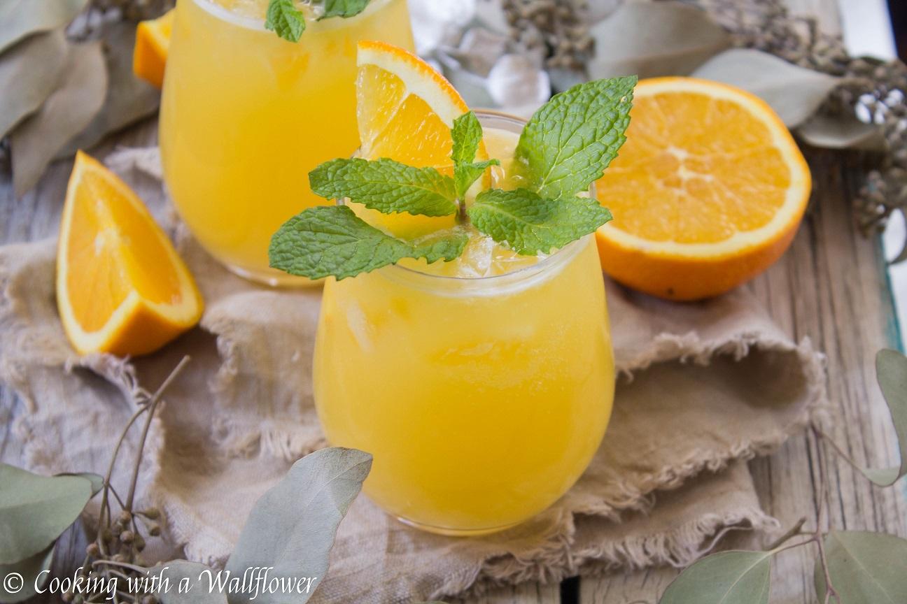 Celebrating 2020 with Pineapple Orange Mimosas