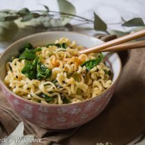Garlic Sesame Ramen | Cooking with a Wallflower