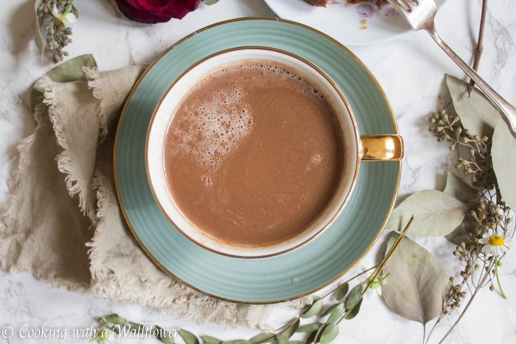 Chocolate Hazelnut Latte | Cooking with a Wallflower