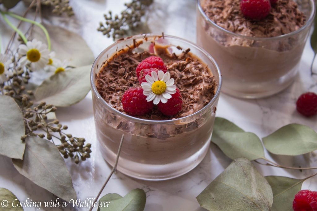 Nutella Chocolate Mousse | Cooking with a Wallflower