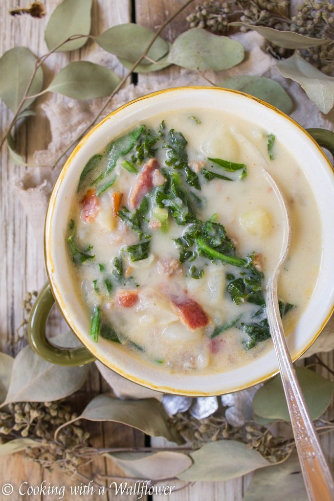 Zuppa Toscana Soup | Cooking with a Wallflower