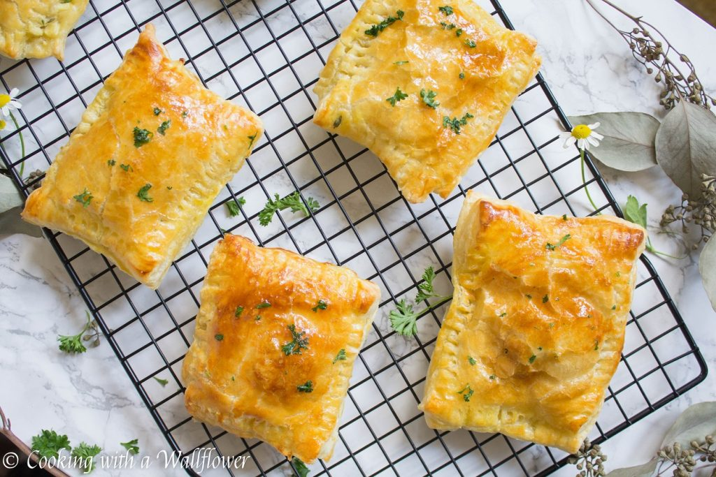 Chicken Pot Pie Hand Pies | Cooking with a Wallflower