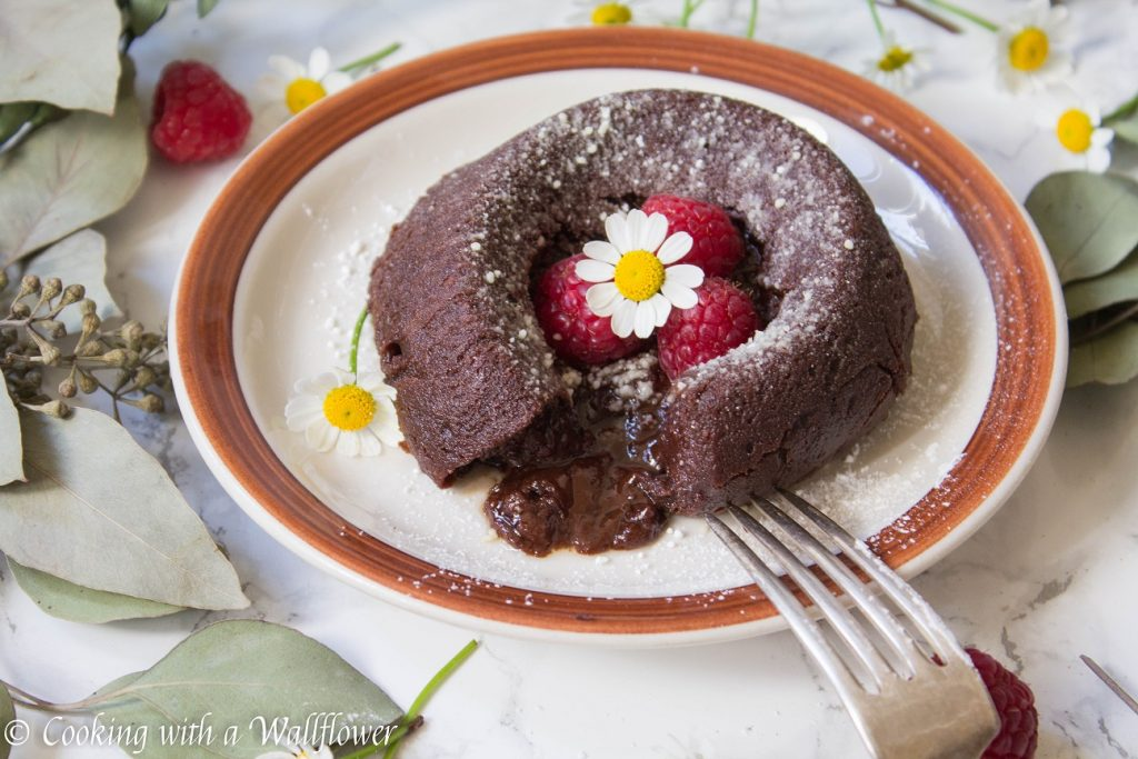 Chocolate Lava Cake | Cooking with a Wallflower