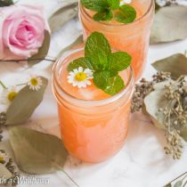 Grapefruit Mint Soda | Cooking with a Wallflower