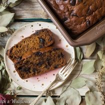 Chocolate Chunk Banana Bread | Cooking with a Wallflower