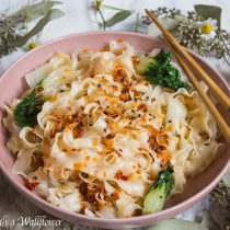 Garlic Chili Oil Noodles | Cooking with a Wallflower