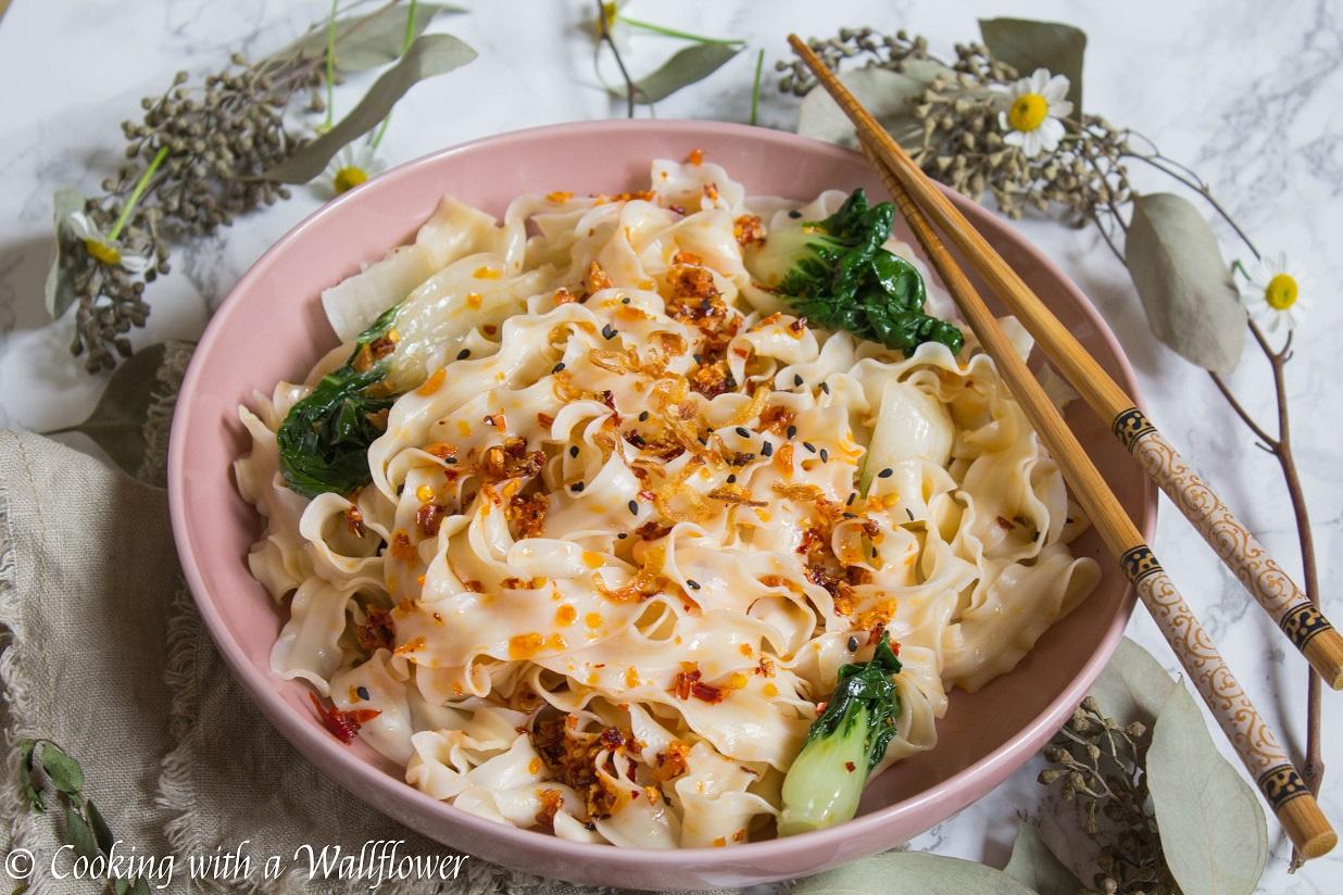 Chili Garlic Oil Noodles