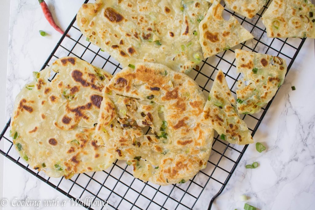 Green Onion Pancakes | Cooking with a Wallflower