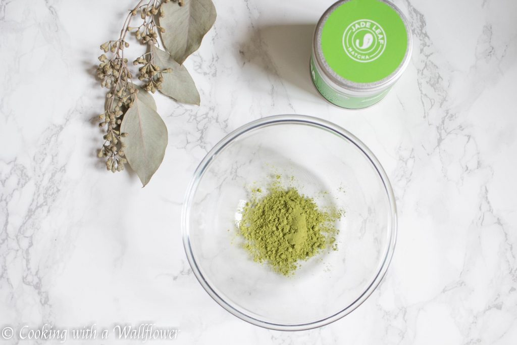 Salted Caramel Matcha Latte    Cooking with a Wallflower