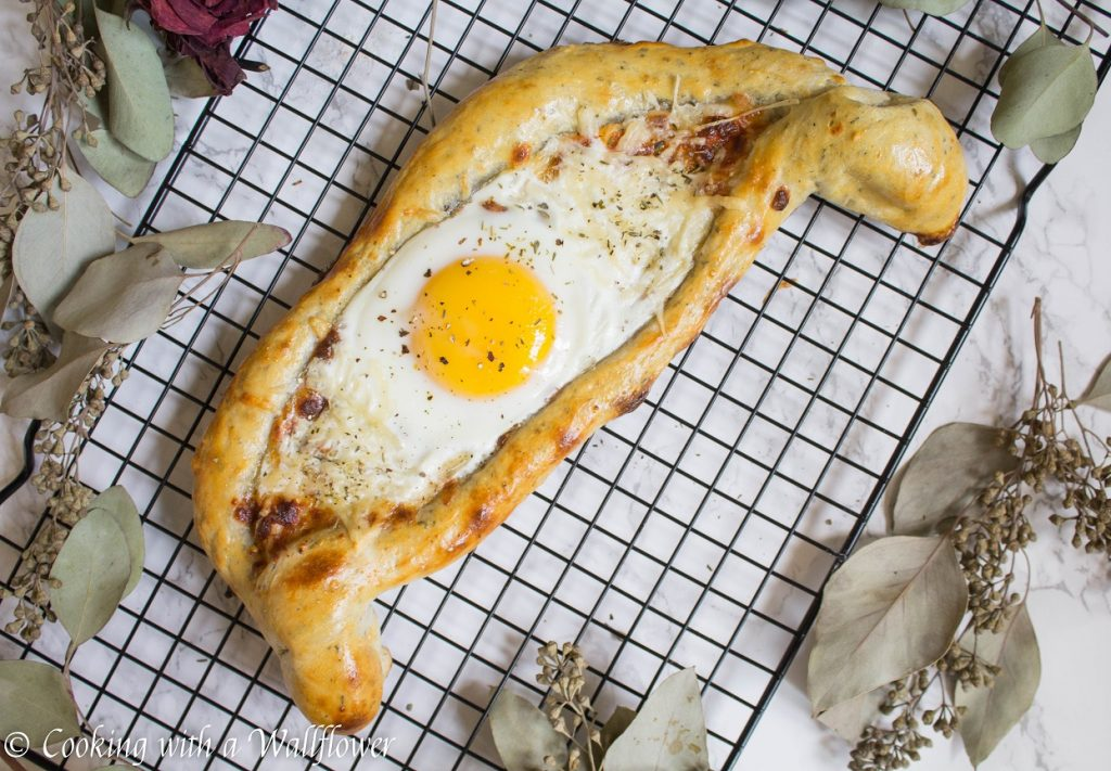Khachapuri, a Georgian Cheese Bread | Cooking with a Wallflower