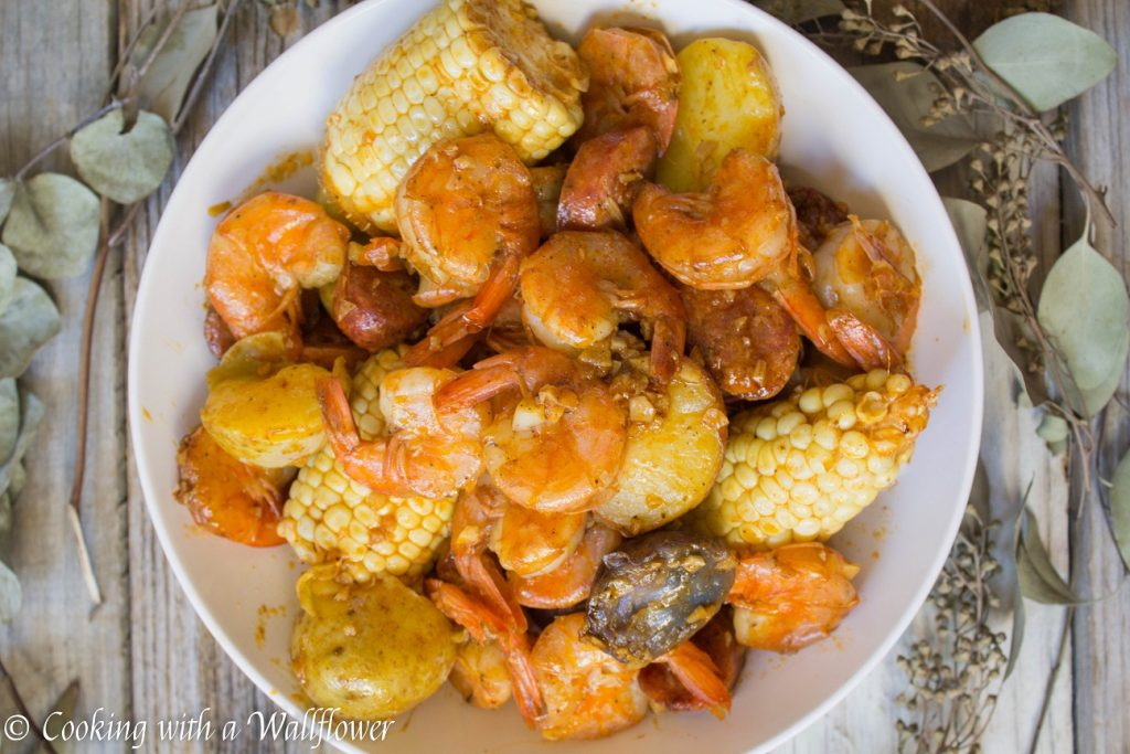 Small Batch Shrimp Boil | Cooking with a Wallflower