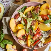 Summer Harvest Salad   Cooking with a Wallflower