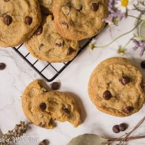 Earl Grey Chocolate Chip Cookies | Cooking with a Wallflower