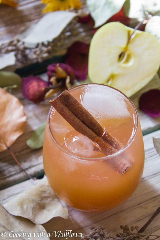 Apple Cider Gimlet | Cooking with a Wallflower
