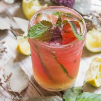 Watermelon Cucumber Cooler | Cooking with a Wallflower
