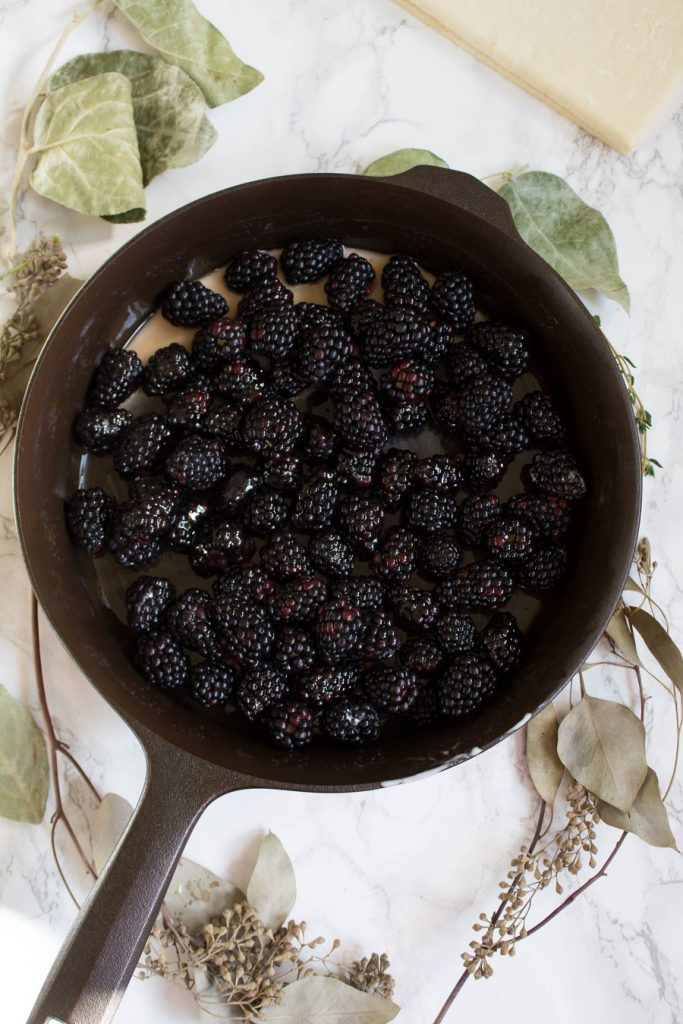 Blackberry Pandowdy | Cooking with a Wallflower