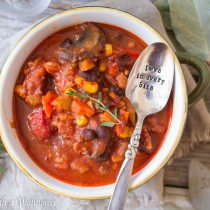 Turkey Vegetable Chili | Cooking with a Wallflower