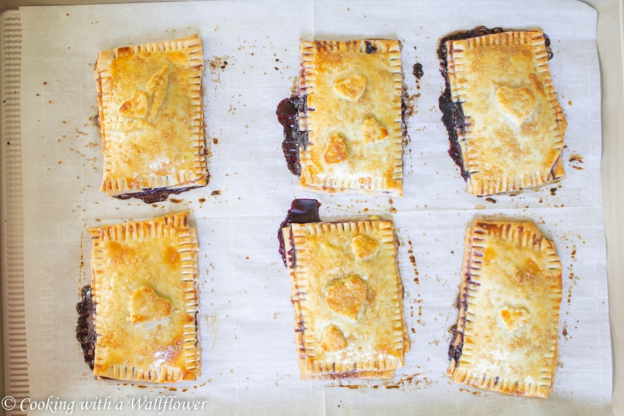 Blueberry Pop Tarts   Cooking with a Wallflower