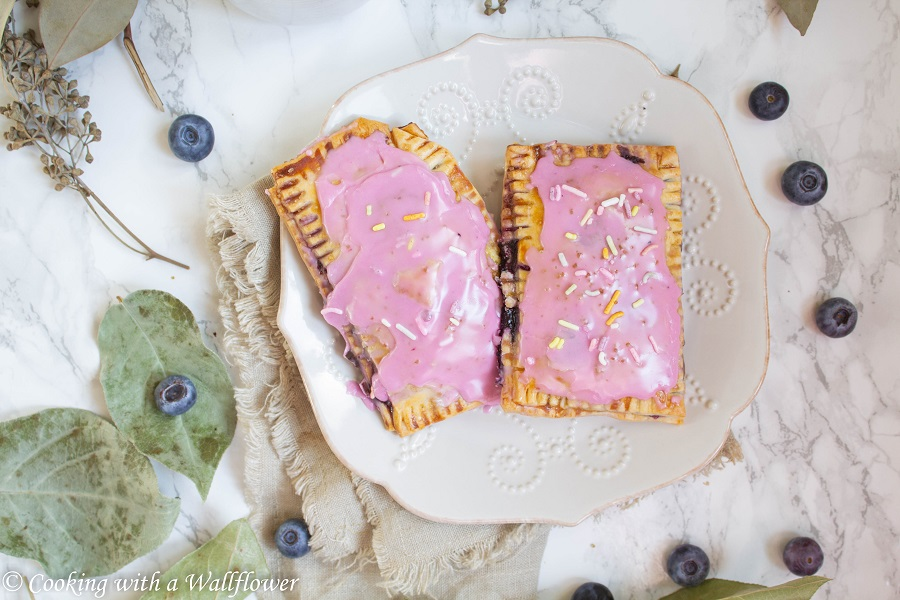 Blueberry Pop Tarts | Cooking with a Wallflower