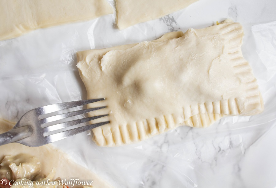 Chicken Green Curry Hand Pies | Cooking with a Wallflower