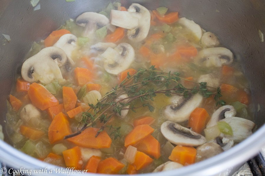 Creamy Chicken Dumpling Soup | Cooking with a Wallflower