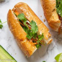 Vietnamese Style Tuna Banh Mi | Cooking with a Wallflower