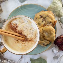 Chicken SausaChai White Hot Chocolate | Cooking with a Wallflower